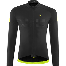 Alé Cycling Clima Protection 2.0 Warm Air Langermede Sykkeltrøyer Herre Svart